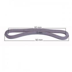 Bracelet caoutchouc 90x5mm