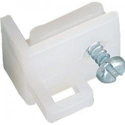 Arrêt nylon rail en c