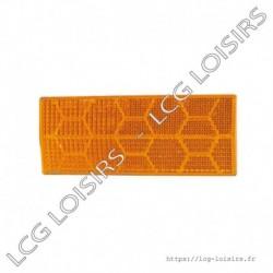 Catadioptre orange 105x54 mm