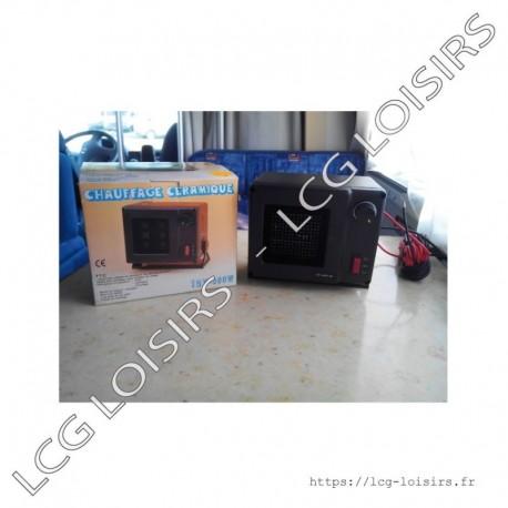 Chauffage céramique souflant 300w