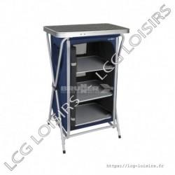 Armoire de camping toile et aluminium 97,5 cm