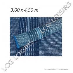 Tapis de sol bleu en 300 g/m²