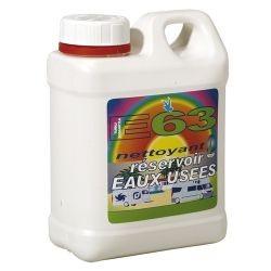 Nettoyant réservoir eaux usées E63